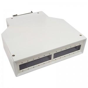 Przełącznica światłowodowa na szynę DIN, 12x SC SX