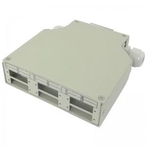 Przełącznica światłowodowa na szynę DIN, 6x SC DX