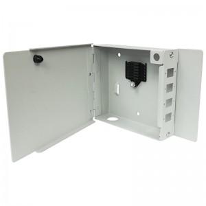 Przełącznica światłowodowa naścienna, 4x SC simplex / LC duplex