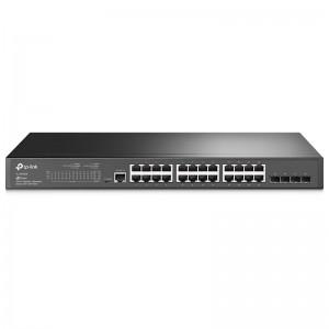 "TP-Link TL-SG3428, 24xGE, 4xGE SFP, 19"""