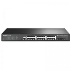 """TP-Link TL-SG3428X, 24xGE, 4x10G SFP+, konsola, 19"""""""