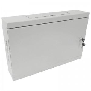 """Szafa rack 19"""" 2U 540x120, wisząca, metalowa, jednosekcyjna, szara (Base Link BL-SRW190212MM-1S)"""