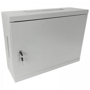 """Szafa rack 19"""" 3U 540x180, wisząca, metalowa, jednosekcyjna, szara (Base Link BL-SRW190318MM-1S)"""