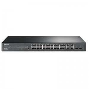 """TP-Link T1500-28TC (TL-SL2428), 24xFE, 2xGE, 2xGE (SFP/RJ-45), 19"""""""