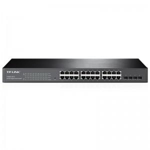 """TP-Link T1600G-28TS (TL-SG2424), 20xGE, 4xFE/GE (RJ45/SFP), 19"""""""