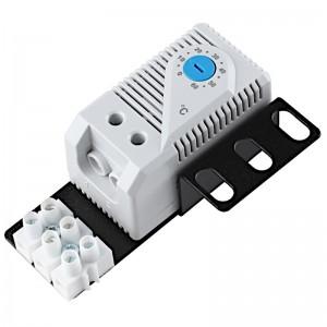 Termostat zamykający z adapterem rack 1U (Getfort GF-T)