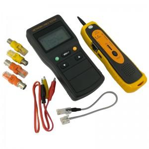Tester okablowania LCD z szukaczem/skanerem kabli (Base Link BL-CT4104)