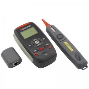 Tester okablowania LCD z szukaczem/skanerem kabli, RJ-45, ping (Dadi TPT-8020A)