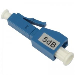 Tłumik optyczny LC/UPC 5dB, typu adapterowego (Base Link)
