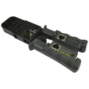 Zaciskarka złączy modularnych z blokadą i testerem okablowania (FC-4106)