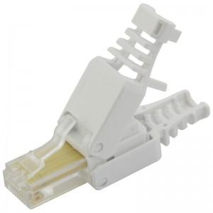 Złącze modularne UTP kat.5e, beznarzędziowe