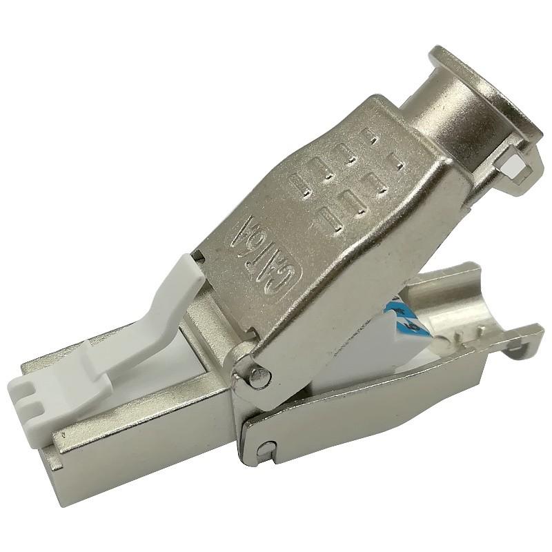 Złącze modularne STP kat.6A, beznarzędziowe