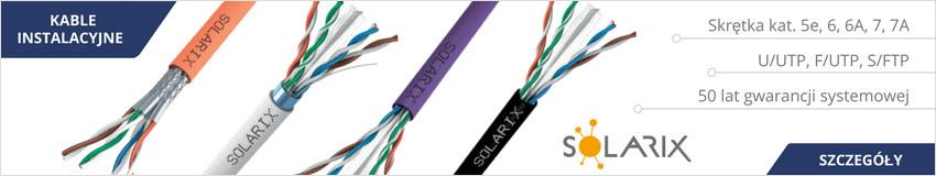 Kable instalacyjne Solarix - najwyższa jakość