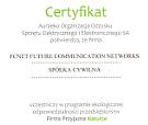 Firma przyjazna naturze-certyfikat